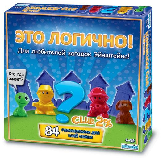 KODKOD Обучающая игра Это логично kodkod настольная игра для детей дело в шляпе