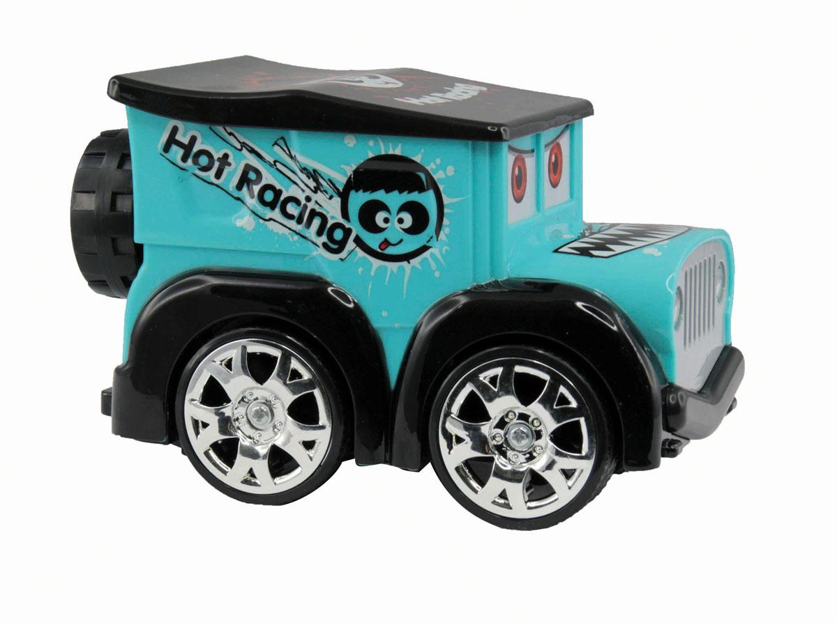 Kidztech Мини машинка цвет голубой машины kidztech радиоуправляемый автомобиль 1 26 bugatti 16 4 super sport