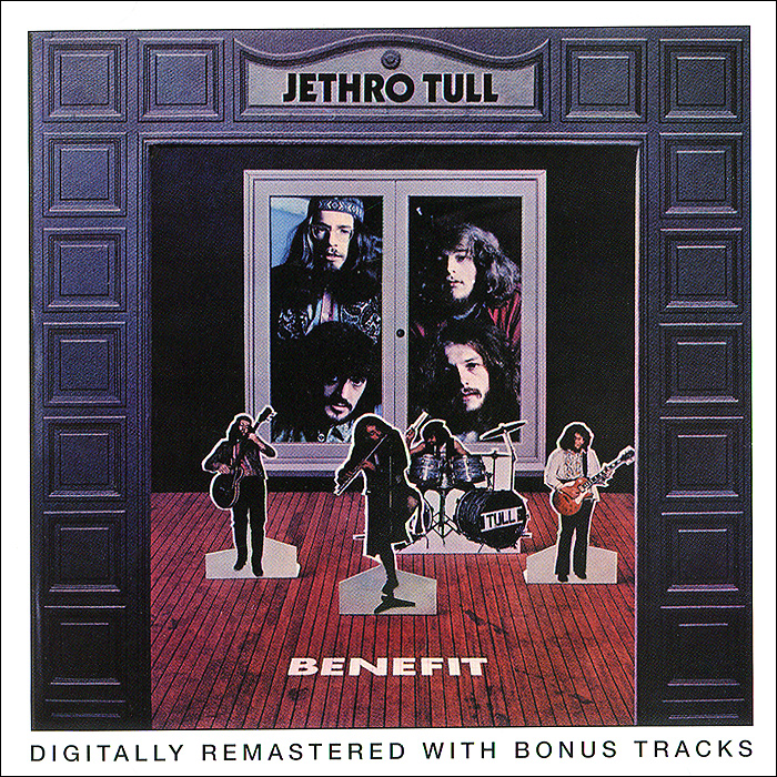 Jethro Tull Jethro Tull. Benefit cd jethro tull stand up the elevated edition