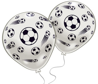 Набор воздушных шариков Everts Футбол, 8 шт