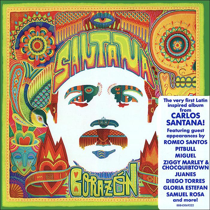Santana Santana. Corazon cd santana corazon
