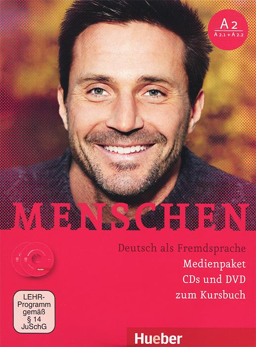 Menschen: Deutsch als Fremdsprache (комплект из 2 CD + DVD) menschen a2 testtrainer mit cd
