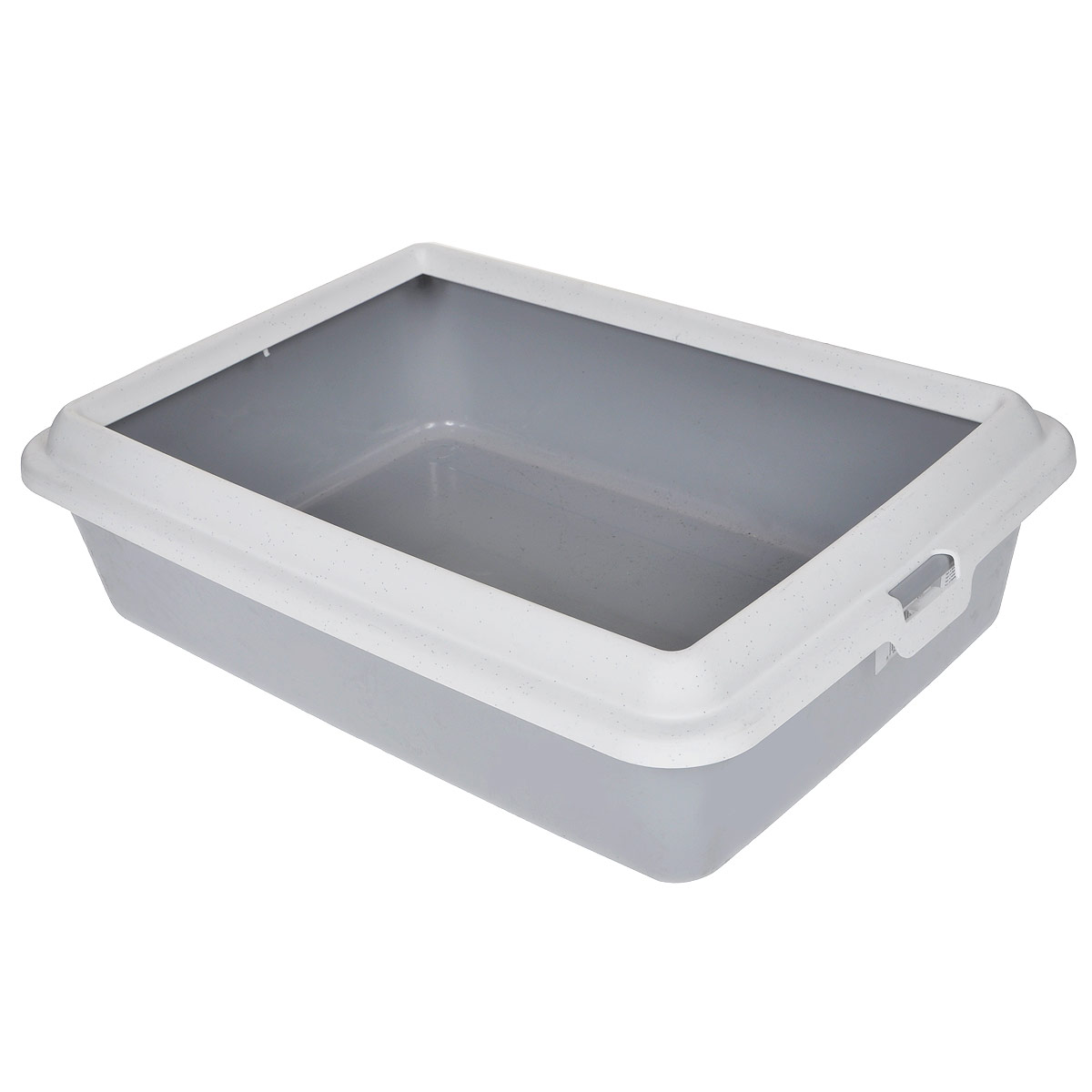 Туалет-лоток для животных MPS Hydra Mini, с рамкой, цвет: серый, 43 см х 31 см х 12 смS08010100Туалет-лоток для животных MPS Hydra Mini выполнен из прочного пластика. Высокие бортики и рама, прикрепленная к лотку, предотвращают разбрасывание наполнителя.Благодаря качественным материалам лоток легко убирается, быстро сохнет и не впитывает посторонние запахи.