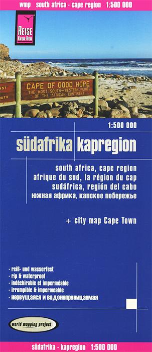 Sudafrika Kapregion. Карта