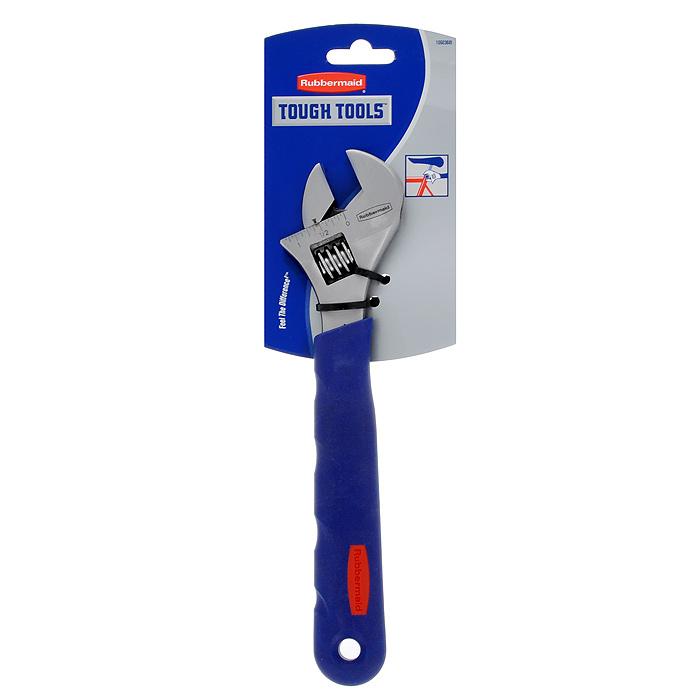 Ключ разводной Rubbermaid, 250 мм, 0-30 мм10503681Ключ разводной Rubbermaid предназначен для отвинчивания и завинчивания гаек, болтов, винтов и других резьбовых соединений, при выполнении различных слесарно-монтажных работ. Ключ снабжен мерной шкалой.