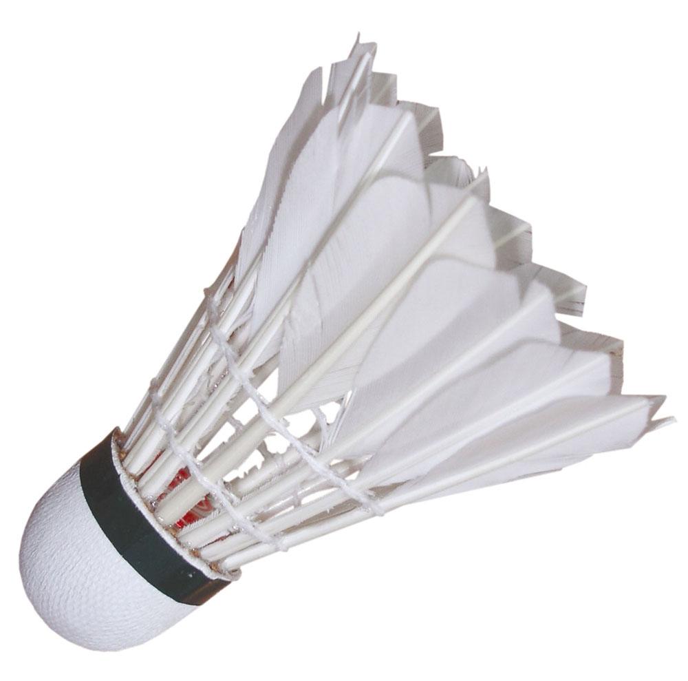 Набор перьевых воланов для бадминтона Start Up, цвет: белый, 3 шт244762Набор для бадминтона Start Up состоит из трех белых перьевых воланов. Головка волана выполнена из искусственной пробки.Волан для игры в бадминтон влияет на процесс игры не меньше, чем ракетка.