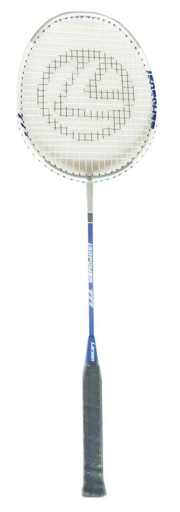 Ракетка для бадминтона Larsen  777 (771) ISODYNAMIC , цвет: белый, синий - Бадминтон