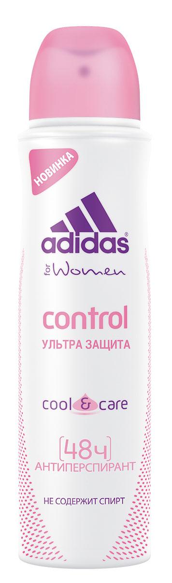Adidas Action 3 Control. Дезодорант женский, 150 мл adidas pure game дезодорант 150 мл