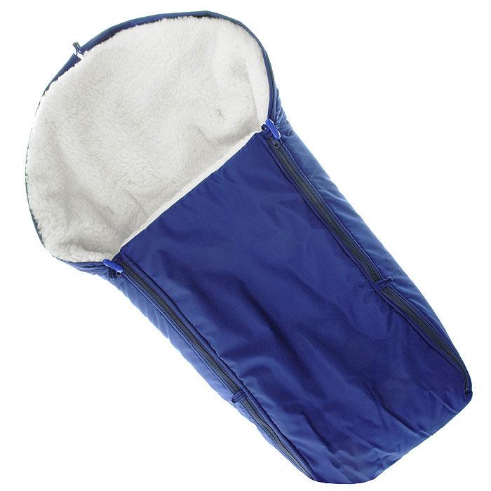 Конверт в коляску Чудо-Чадо, цвет: синий. ККМ_06-000. Размер универсальный