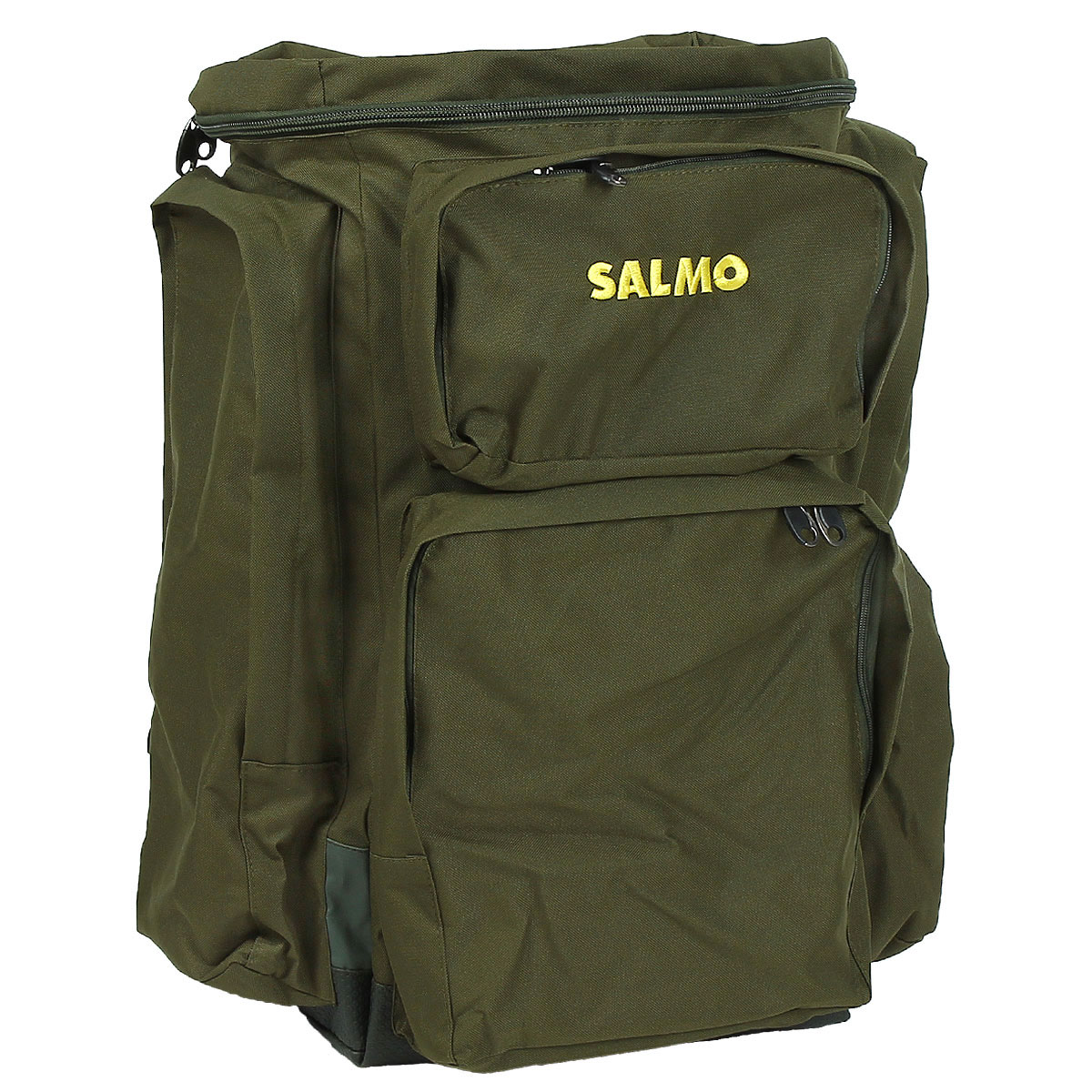 Рюкзак рыболовный Salmo 105 л, цвет: зеленый рюкзак рыболовный salmo 105л
