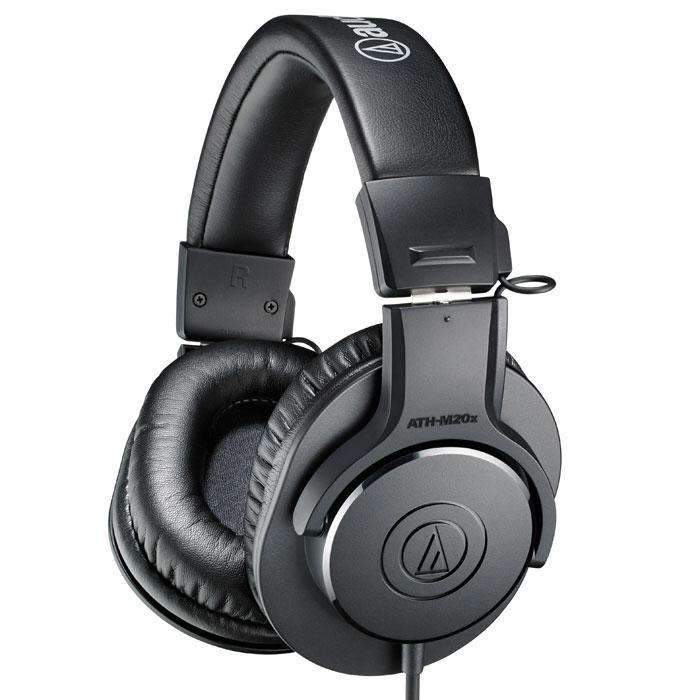 Audio-Technica ATH-M20X наушники15117005Audio-Technica ATH-M20X – мониторные наушники, которые открывают профессиональную серию M, получившую признание критиков. Современный дизайн и высококачественные материалы гарантируют комфорт эксплуатации этих наушников. Модель обладает улучшенными звуковыми характеристиками и повышенным уровнем звукоизоляции. Большой размер динамиков обеспечивает отличную передачу звука, а удобные мягкие амбушюры – прослушивание музыки в течение длительного времени. ATH-M20x – отличный вариант для сведения и записи звука.
