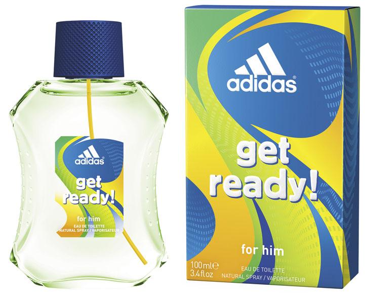 Adidas Лосьон после бритья Get Ready!, мужской, 100 мл340009368251Лосьон после бритья Adidas Get Ready! для него - это свежий древесно-цитрусовый аромат для мужчин.Пирамида аромата:Верхние ноты: бразильский мандарин, ананас, морской аккорд.Ноты сердца: райская маракуя, лаванда, мускатный шалфей.Базовые ноты: древесные ноты, кедровые ноты, пачули. Характеристики:Объем: 100 мл. Товар сертифицирован.