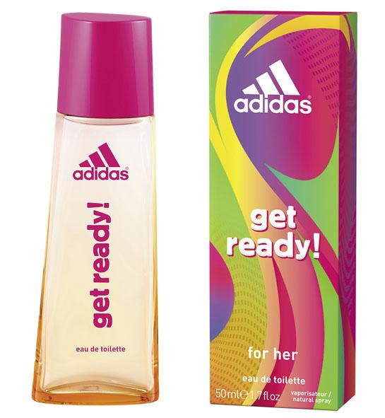 Adidas Туалетная вода Get Ready!, женская, 50 мл туалетная вода 30 мл adidas туалетная вода 30 мл