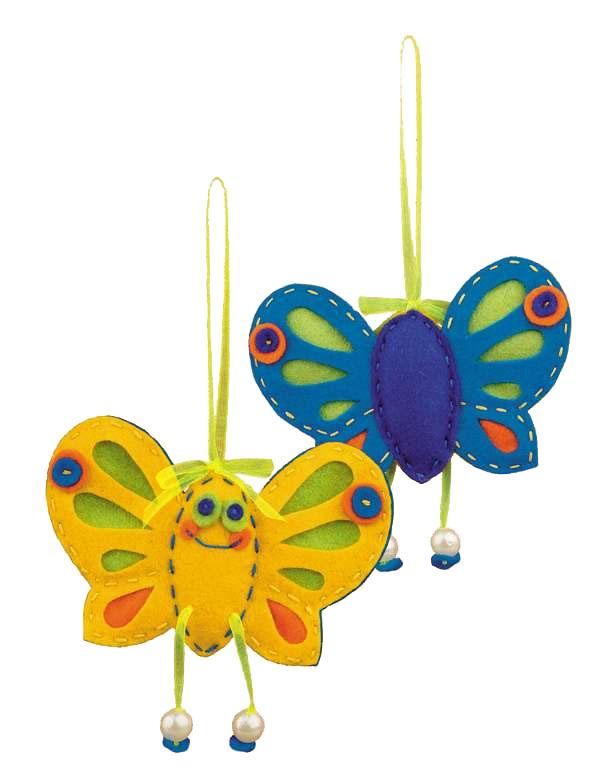 """Набор для рукоделия """"Солнечная бабочка"""", 10 х 10 см"""