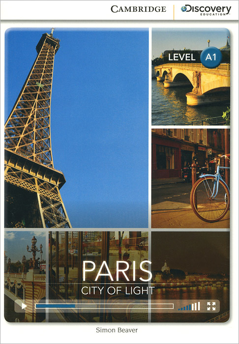 Paris: City of Light: Level A1 32 pcs in one postcard famous nightscape famous cities around the world christmas postcards greeting birthday cards 10 2x14 2cm