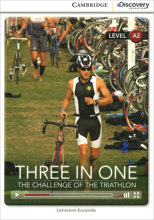Three in One: the Challenge of the Triathlon: Level A2 32 pcs in one postcard famous nightscape famous cities around the world christmas postcards greeting birthday cards 10 2x14 2cm