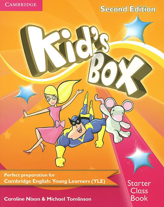 Kid's Box: Starter Class Book (+ CD-ROM) rosemary aravanis young learners english starter teacher s book cd rom