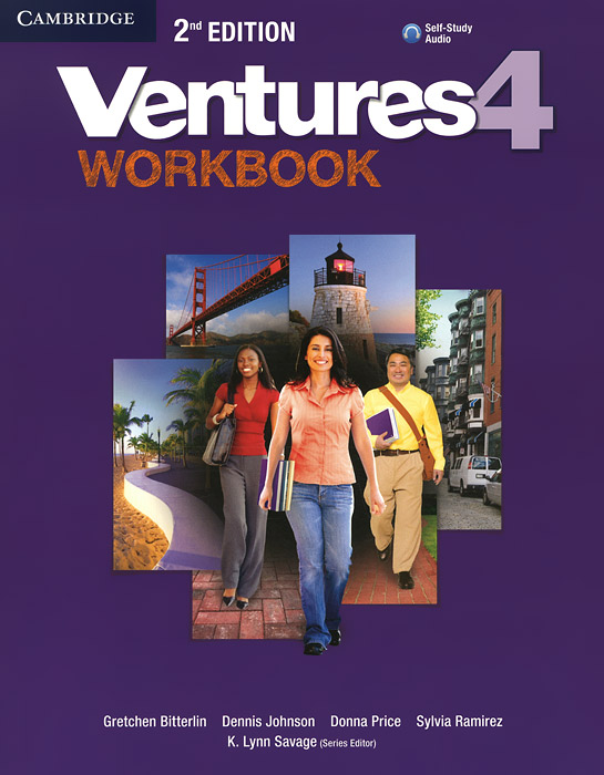 Фото - Ventures: Level 4: Workbook (+ CD-ROM) open mind advanced workbook with answer key level c1 cd