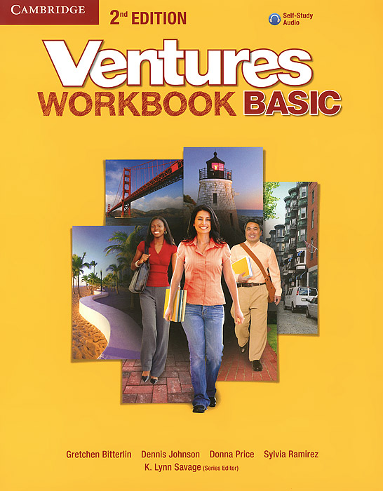 Фото - Ventures: Basic: Workbook (+ CD) open mind advanced workbook with answer key level c1 cd