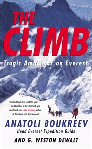 The Climb into thin air a personal account of the everest disaster