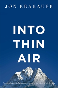 Into Thin Air: A Personal Account of the Everest Disaster femininity the politics of the personal