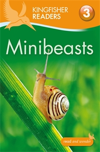 Kingfisher Readers: Minibeasts (Level 3: Reading Alone with Some Help) kingfisher readers flight level 4 reading alone