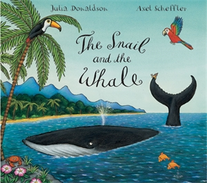 The Snail and the Whale Big Book big blue whale