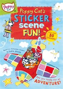 Poppy Cat's Sticker Scene Fun paddington sticker scene book