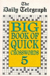 Daily Telegraph Big Book Quick Crosswords Book 5 шарф frank q