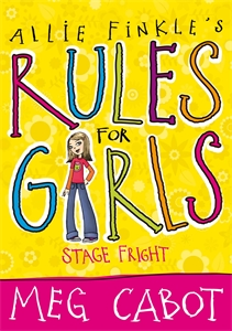 Allie Finkle's Rules for Girls: Stage Fright star mela allie пляжное платье экрю красный черный