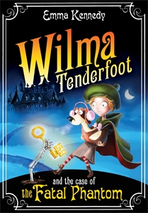 Wilma Tenderfoot and the Case of the Fatal Phantom белая сорочка и стринги wilma xxl 3xl