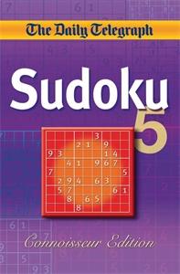 Daily Telegraph Sudoku 5 'Connoisseur Edition' celebrity sudoku