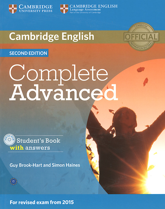 Complete Advanced: Student's Book with Answers (+ CD-ROM) cambridge english complete advanced student s book without answers cd rom