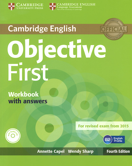Objective First: Workbook with Answers (+ CD) cambridge vocabulary for first certificate edition with answers and audio cd