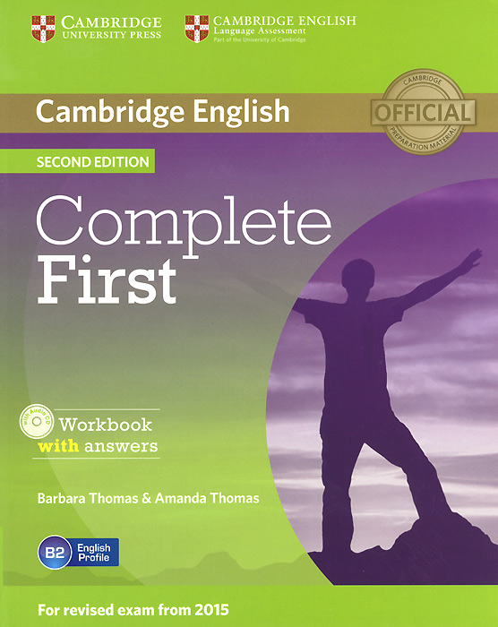 Complete First: Workbook with Answers (+ CD-ROM) objective first 4 edition workbook without answers сd