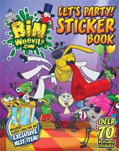 Bin Weevils Let's Party! Sticker Book bin weevils sticker activity book