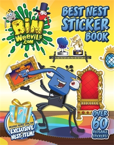 Bin Weevils: Best Nest Sticker Book amazing adventures sticker book