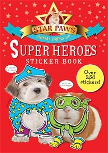 Super Heroes Sticker Book: Star Paws ultimate sticker book dangerous dinosaurs
