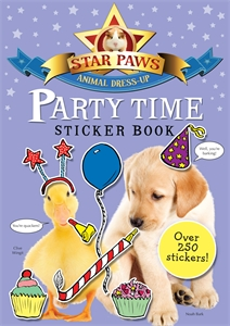 Party Time Sticker Book: Star Paws электросковорода гриль ariete 189 party time