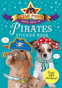 Pirates Sticker Book: Star Paws