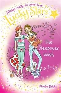 Lucky Stars 8: The Sleepover Wish lucky stars 8 the sleepover wish