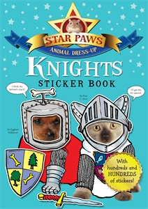 Knights Sticker Book: Star Paws ultimate sticker book dangerous dinosaurs