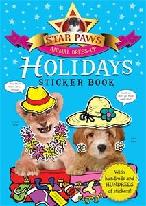 Holidays Sticker Book: Star Paws ultimate sticker book dangerous dinosaurs