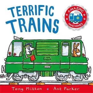 Amazing Machines: Terrific Trains power trains набор с краном 48627