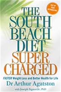 The South Beach Diet Supercharged cartoon kid supercharged