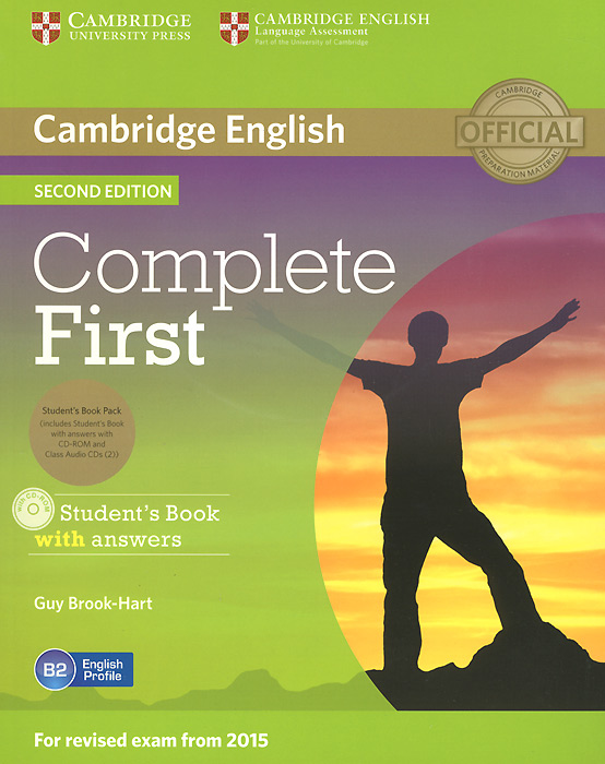 Complete First: Student's Book with Answers (+ 3 CD-ROM) objective first 4 edition workbook with answers cd rom
