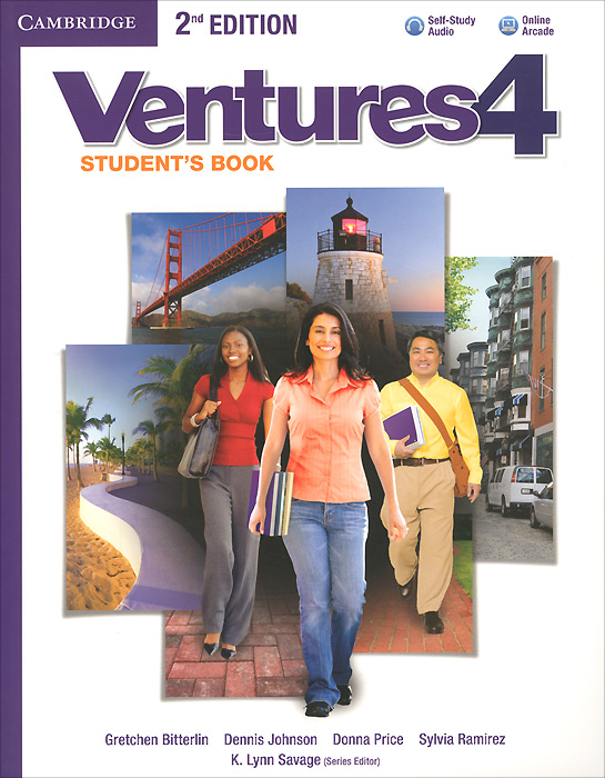 Ventures: Level 4: Student's Book (+ CD) галстук banana republic banana republic ba067dmajvv3
