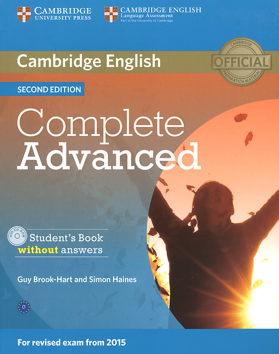 Complete Advanced: Student's Book without Answers (+ CD-ROM) grammar and vocabulary for advanced book with answers