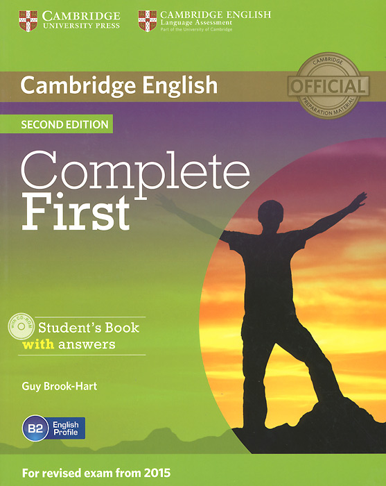 Complete First: Student's Book with Answers (+ CD-ROM) cambridge learner s dictionary english russian cd rom