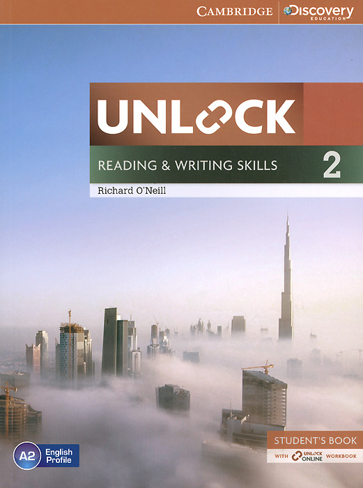 Unlock: Level 2: Reading and Writing Skills: Student's Book with Online Workbook 探索科学百科 discovery education(中阶)2级a3·泰坦尼克与冰山